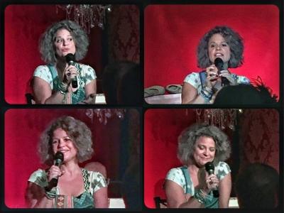 Francesca in #GildaRadner Tribute Show